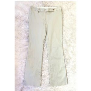 MICHAEL KORS Khaki Bootcut Dress Pants